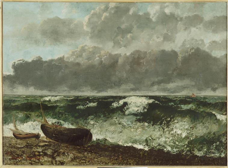 Gustave Courbet La vague