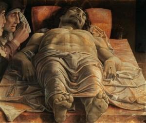 Mantegna dead christ