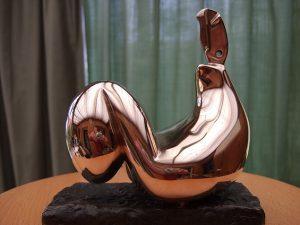 Clair de lune - Bronze 1986 Copyright Michel Naslot