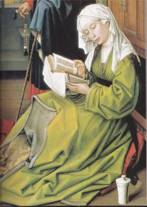 La magdalena leyendo R; van der Weyden 1435