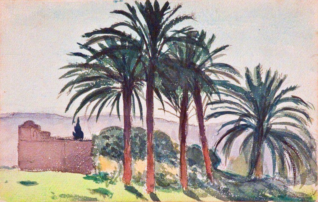 Albert Marquet Les Palmiers, 1925