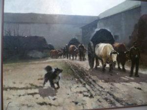 R. Princeteau Équipage de bœufs